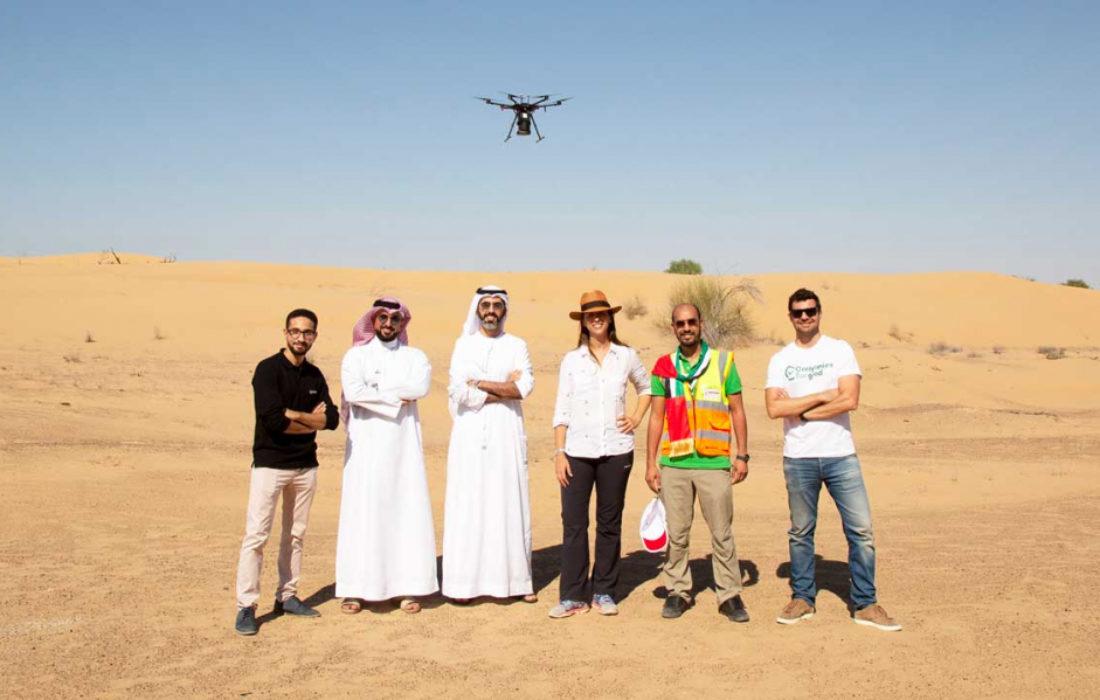 """""""كفو"""" تطلق مبادرة لزراعة مليون شجرة غاف في الإمارات"""