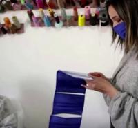 Tunisian Fashion Atelier Transforms into Mask Workshop