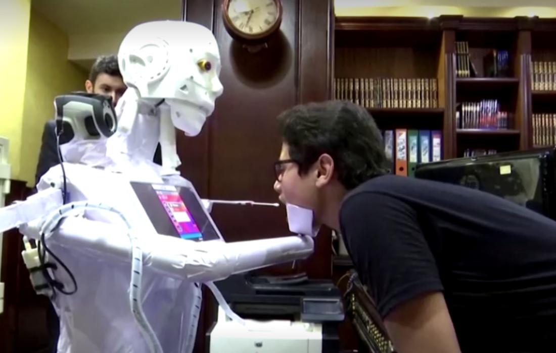 Egyptian Robot Could Protect Doctors from Coronavirus