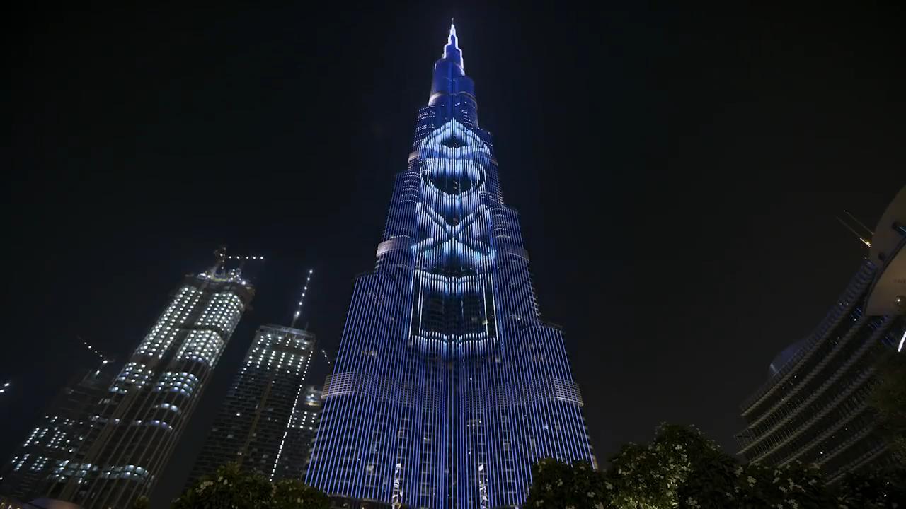 Sony Lights Up Burj Khalifa To Mark PS5 Launch