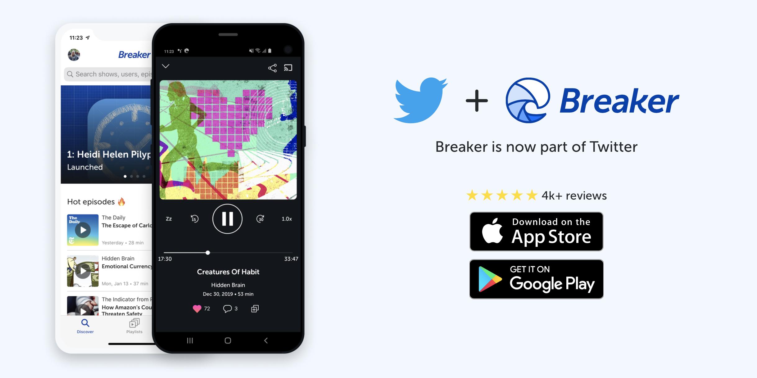 Twitter Acquires Japanese Social Podcasting App Breaker